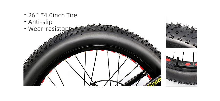 Rad Electric Bike, HOTEBIKE Fat Tire Bike,Rad Electric Bike Review