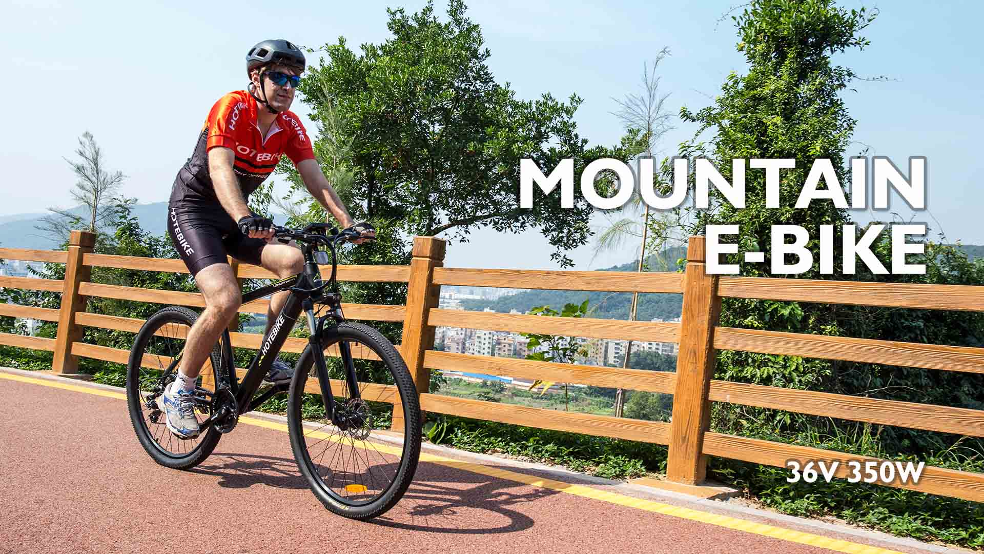 Electric Mounatin Bike A6AH26 Video