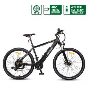 48V 500W Mountain Bike 12AH Battery 27.5″ Ebike Canada