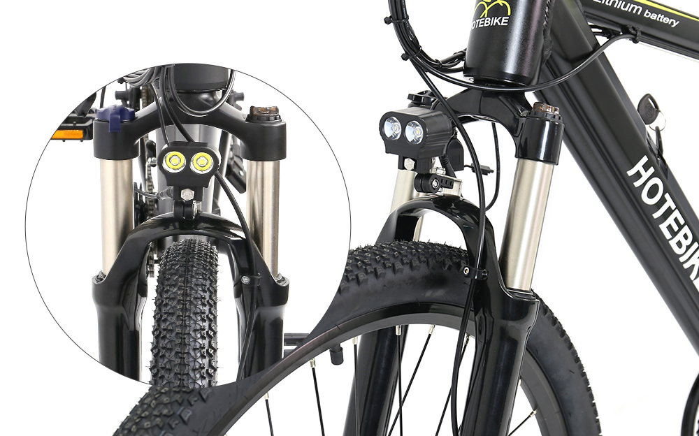 front light of electric bike