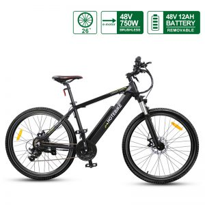 Most powerful electric bike 26 inch frame 48V 750W motor quick release Battery A6AH26