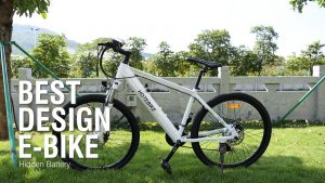 White Electric Mountain Bike for Girls A6AH26