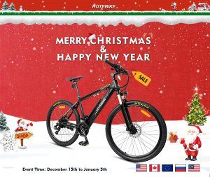 HOTEBIKE Electric Bike 2020 Christmas Promotion