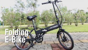 Folding Electric Bike 20 inch City Bicycle Video – HOTEBIKE