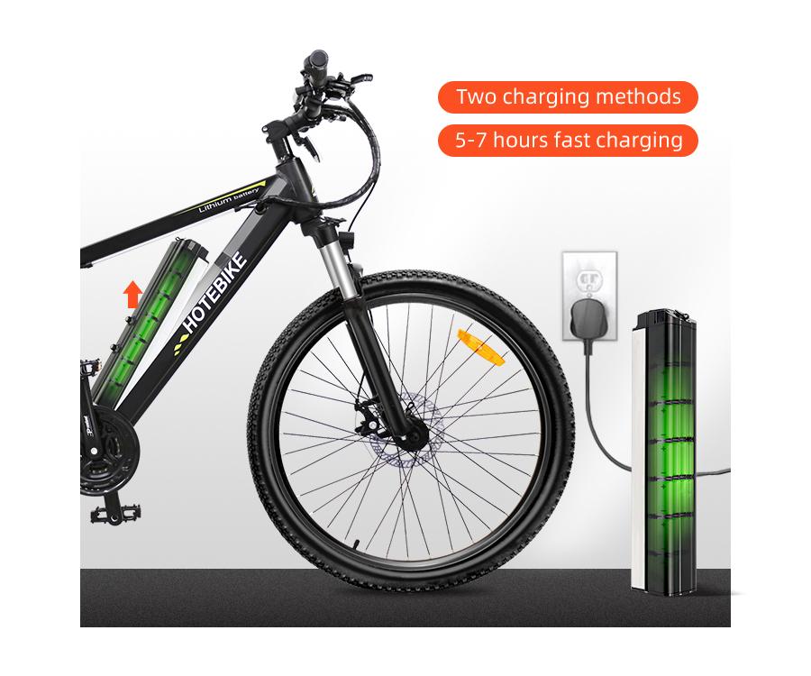 Li-ion battery electric bike