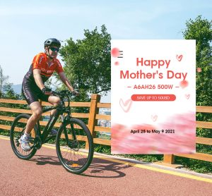 HOTEBIKE Electric Bike 2021 Mother's Day Promotion