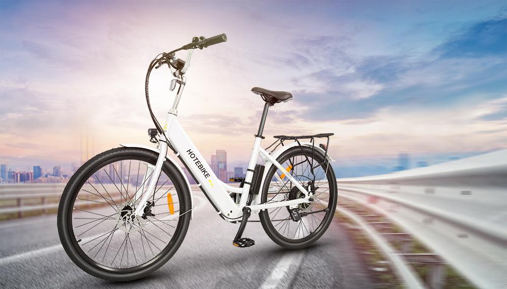 HOTEBIKE City Bike 36V 350W Electric Bike  A5(26)