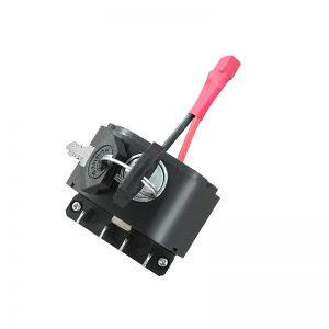 Ebike Battery Lock and Two Keys for HOTEBIKE A6AH26 A5AH26