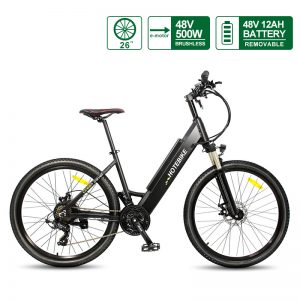 Electric city bike 48V 500W 26″  with Hidden Battery A5AH26 for sale