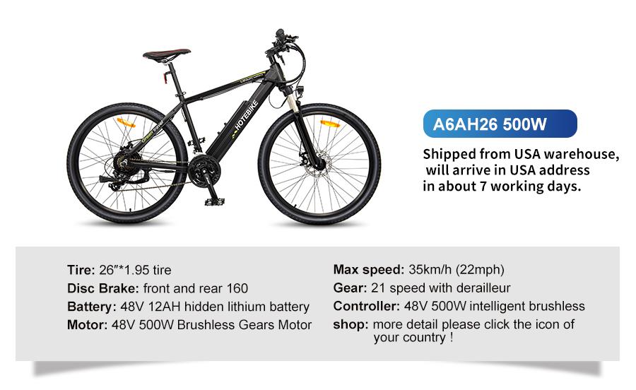 the speed of e-bike