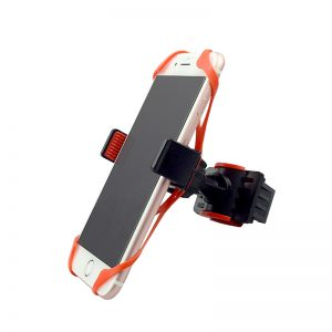 Silicone Bicycle Phone Holder with Strap