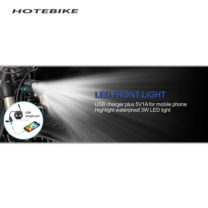 HOTEBIKE Headlight