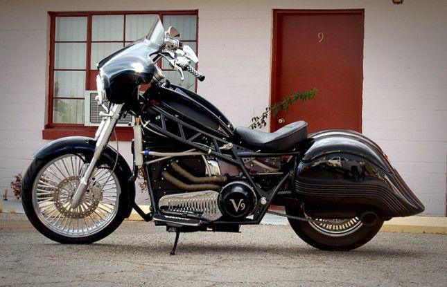 electric bike chopper style