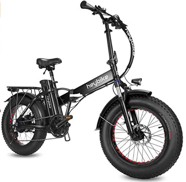 Heybike Fat Tire Electric Mountain Bike