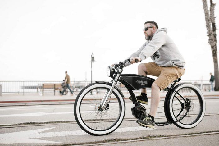 Chopper Style Electric Bike