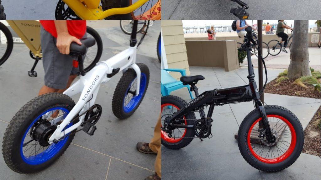 sondors electric bike fold